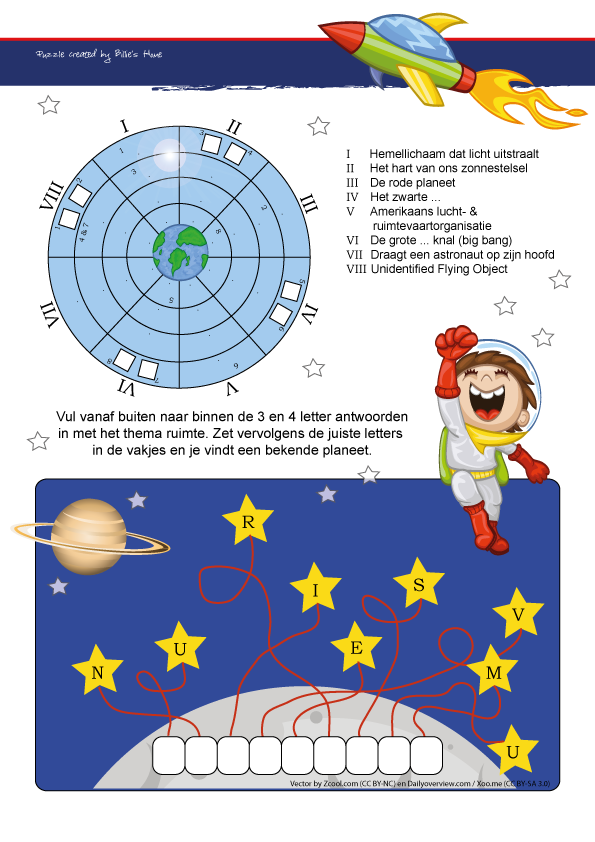 Puzzels - Kinder Puzzel Magazine lente editie 2015