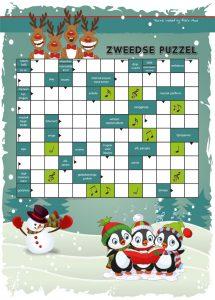 Puzzel Kinder Puzzel Boek winter 2017